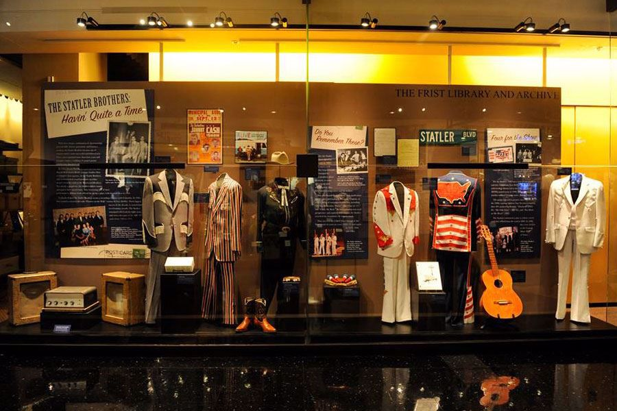 Numerous stage costumes