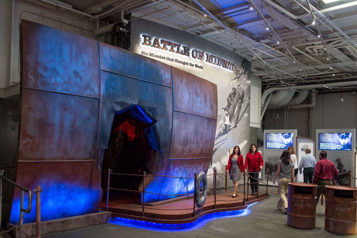 Experience the legacy of this floating museum