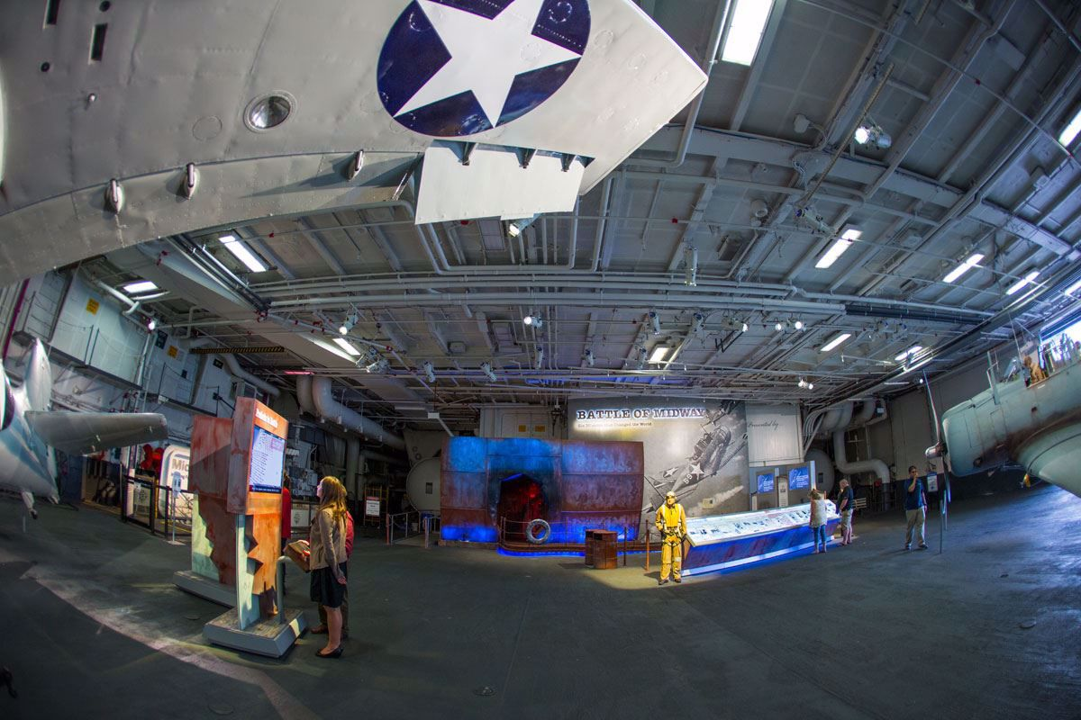 Midway features more than 60 exhibits