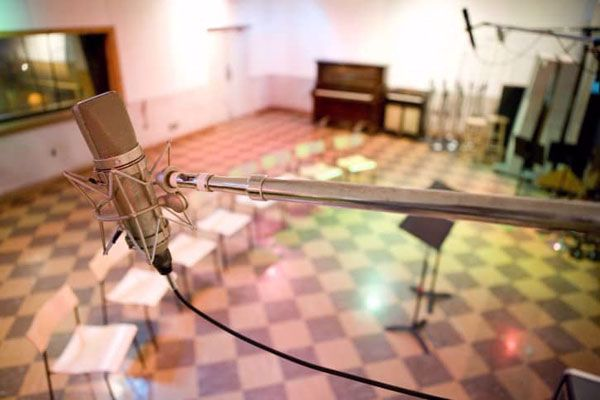 Experience historic RCA Studio B