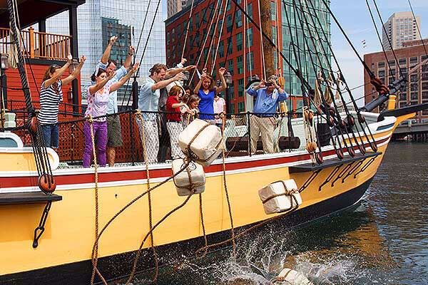 The Boston Tea Party Ships and Museum