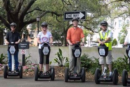 Historic Tour of Savannah by Segway