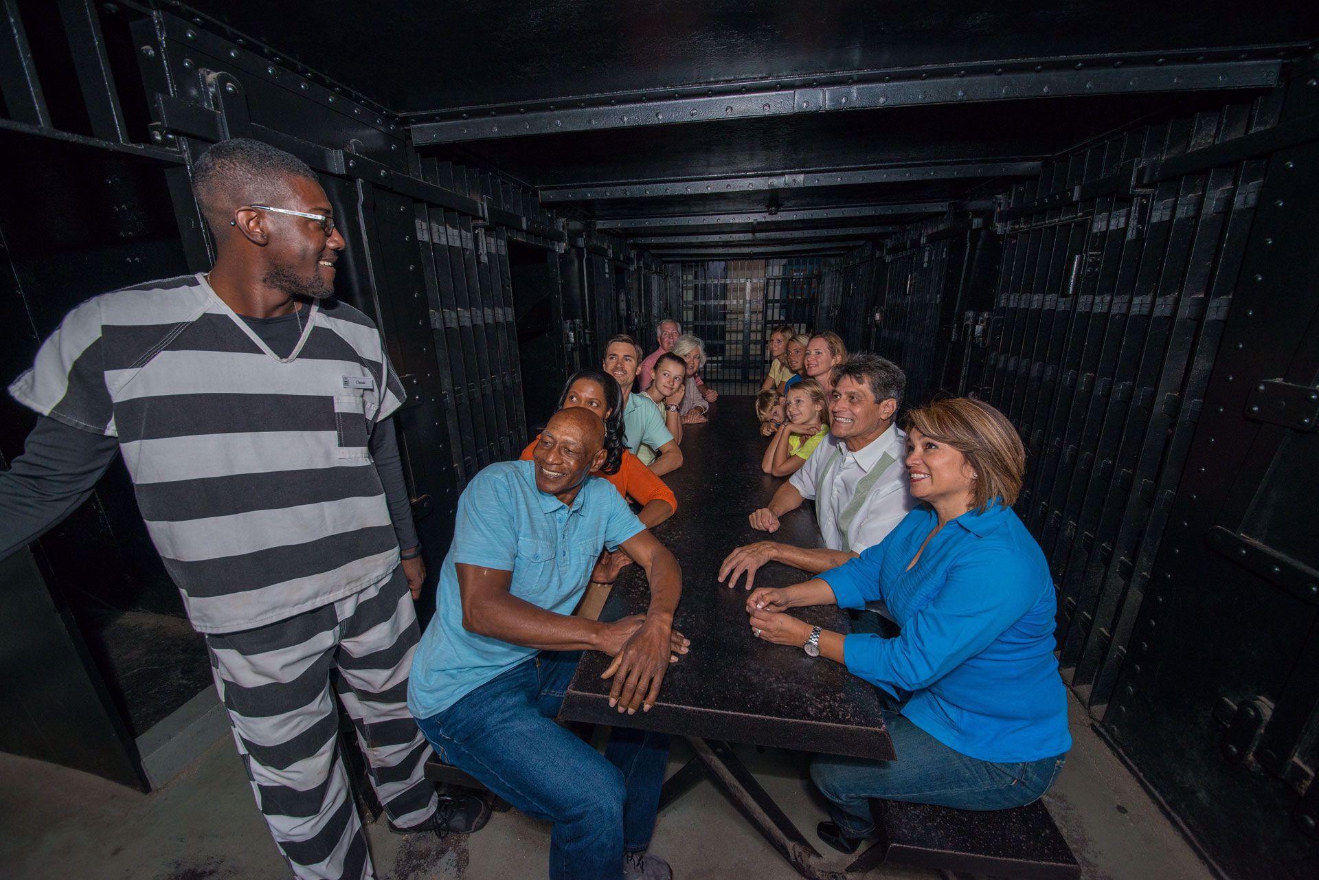 Visit prisoner cells