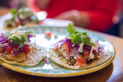 Visit six establishments for food