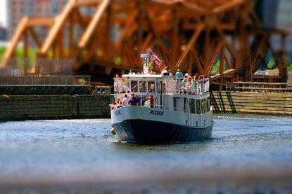 Cruising the Charles River