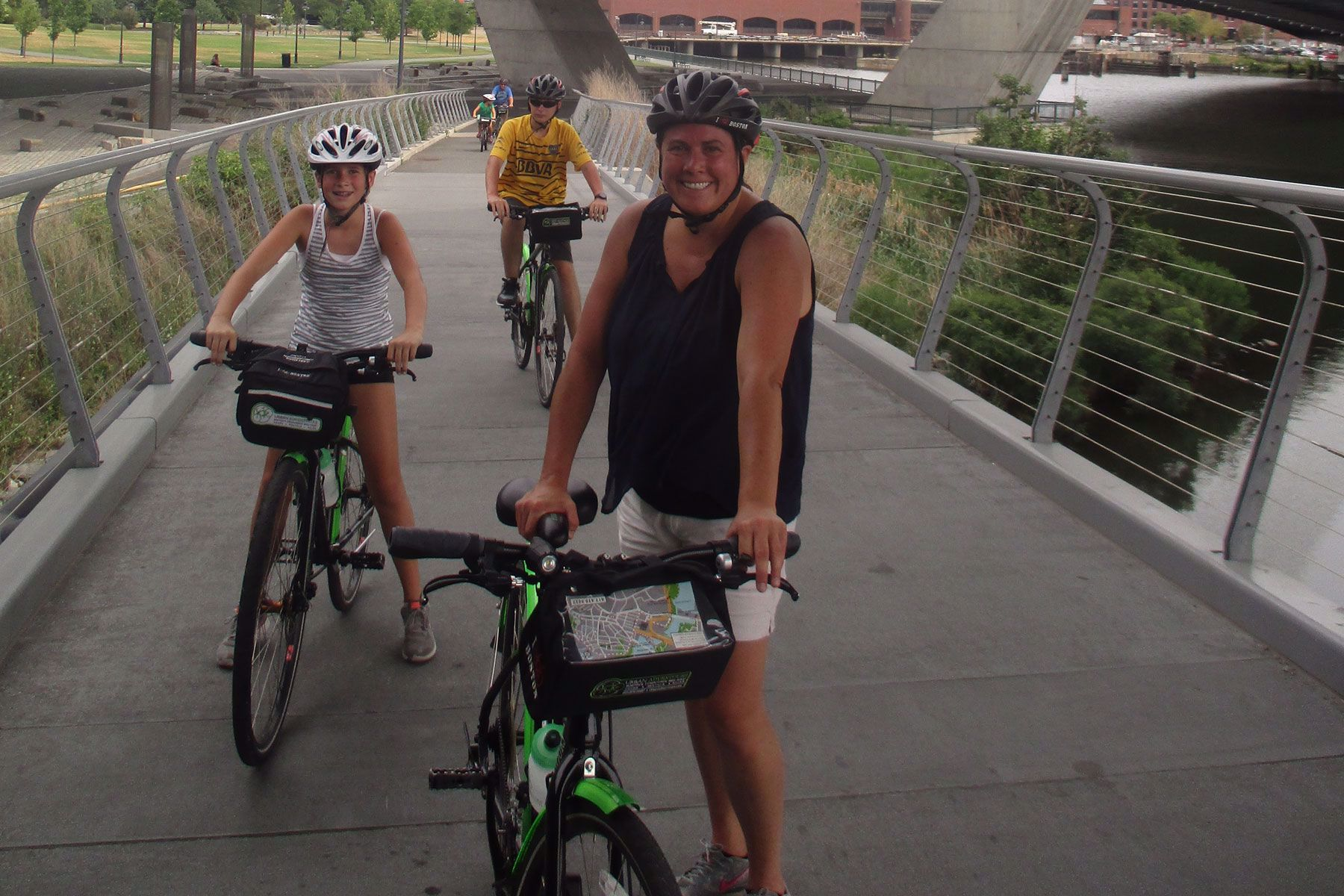 Family-friendly bike tour