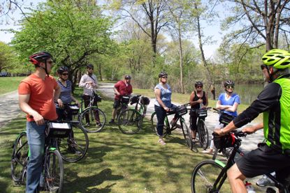 Emerald Necklace Bike Tour