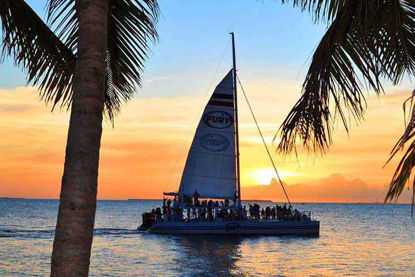 Best views of an infamous Key West Sunset