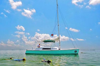 Key West Eco Tours aboard the Java Cat