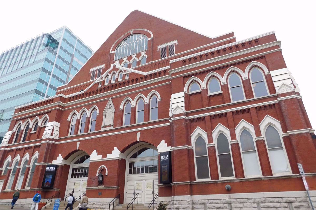 Ryman Theater The Mother Church of Country Music