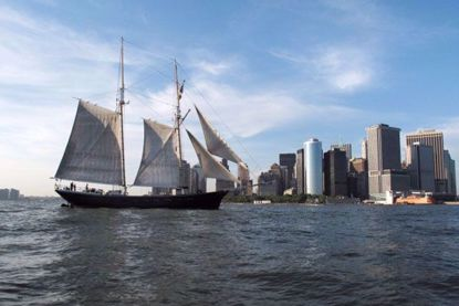Clipper City Tall Ship Jazz Sail