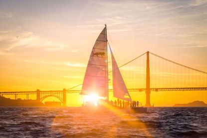 San Francisco Sunset Sail