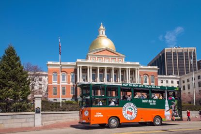 Boston's Old Town Trolley