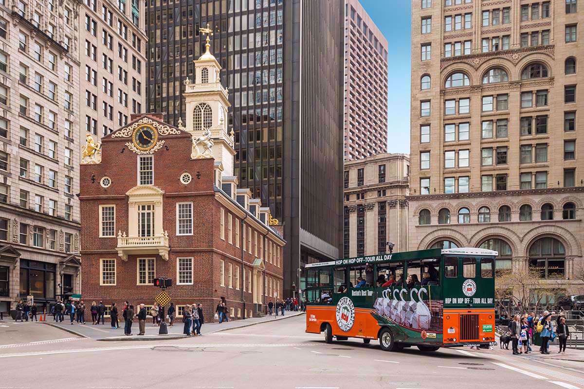 Boston's old state house