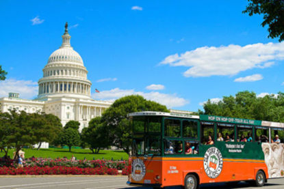 Old Town Trolley City Tour of DC Gold Pass